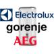 """Запасные детали для электрических водонагревателей """"Electrolux"""", """"Gorenje"""", """"AEG"""""""