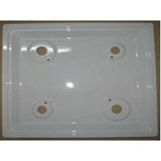 """Стол газовой плиты """"DARINA"""" мод. GM441, GM442, КM441, без эл.розжига, 50*50мм, белый (108 311-02)"""