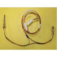 """Термопара ВПГ """"NEVA-LUX"""", ВПГ """"АСТРА"""" (2-х проводная), резьба М8*1, L-350 мм, (провод датчика L-750 мм), для узла """"Mertik"""""""