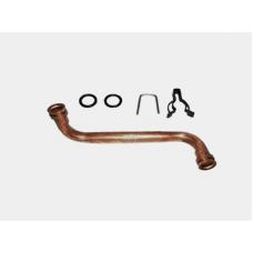 """Трубка ВПГ """"BOSCH"""" от водяного узла к теплообменнику, в сборе (87007150610)"""