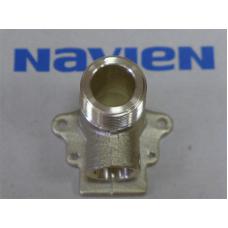 "Патрубок-адаптер контура (ОВ) АОГВ ""Navien"" мод. Ace, Ace C, Atmo (BH2507369A/20007850A), вход"