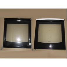 """Дверка духовки """"DARINA"""" мод. GM441, GM442, КM441, белая (475*450мм) в сборе (ПГ 50 02 000-02)"""
