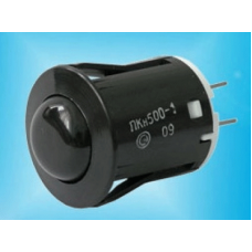 """Кнопка розжига """"DARINA"""" ПКН-500-1-4 (черная)"""