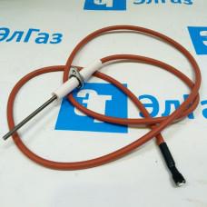 Электрод контроля пламени c кабелем для котлов BAXI SLIM